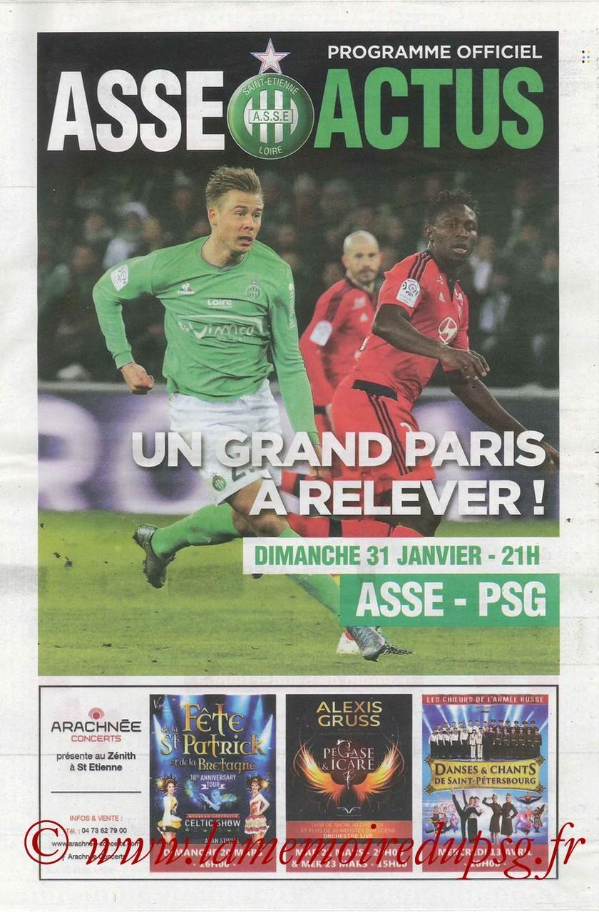 2016-01-31  Saint Etienne-PSG (23ème L1, ASSE Actus)