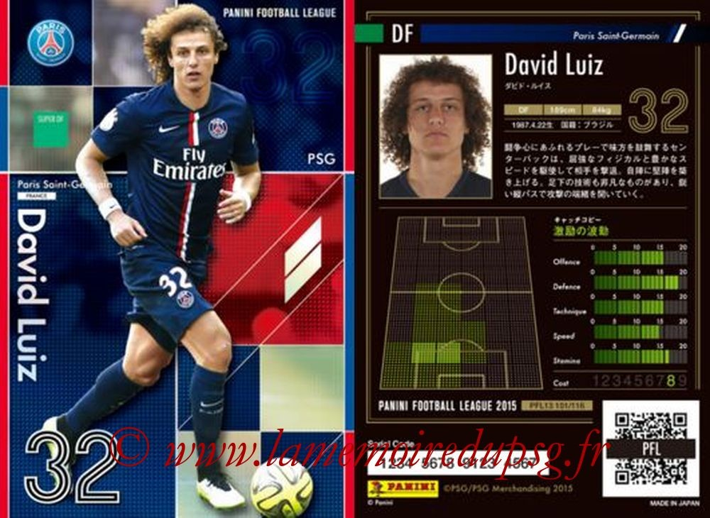 N° 101 - David LUIZ (Super DF)