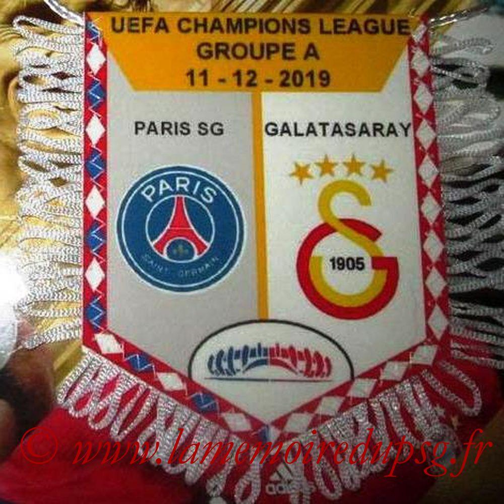 2019-12-11  PSG-Galatasaray (6ème Poule C1)