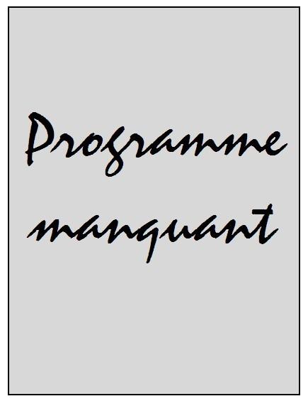 2009-09-23  Boulogne sur Mer-PSG (16ème Finale CL, Programme manquant)