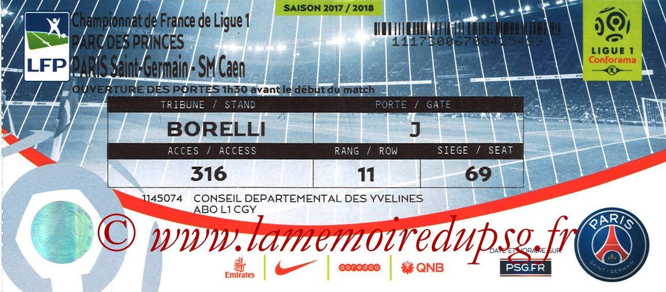 2017-12-20  PSG-Caen (19ème L1, bis)