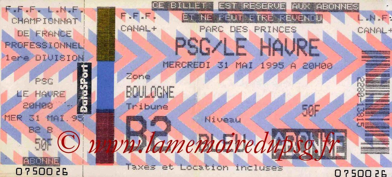 1995-05-31  PSG-Le Havre (38ème D1)