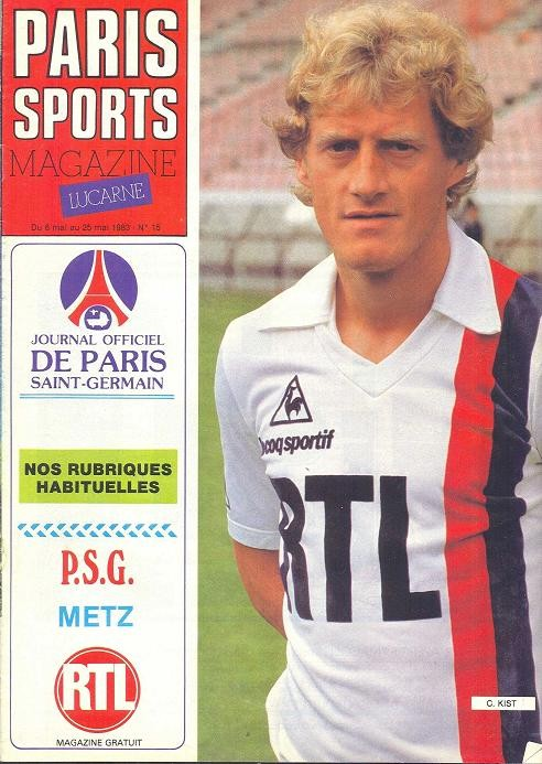1983-05-13  PSG-Metz (35ème D1, Paris Sports Magazine N°15)