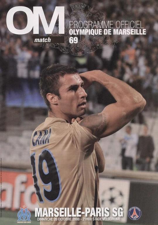 2008-10-26  Marseille-PSG (10ème L1, OM match N°69)