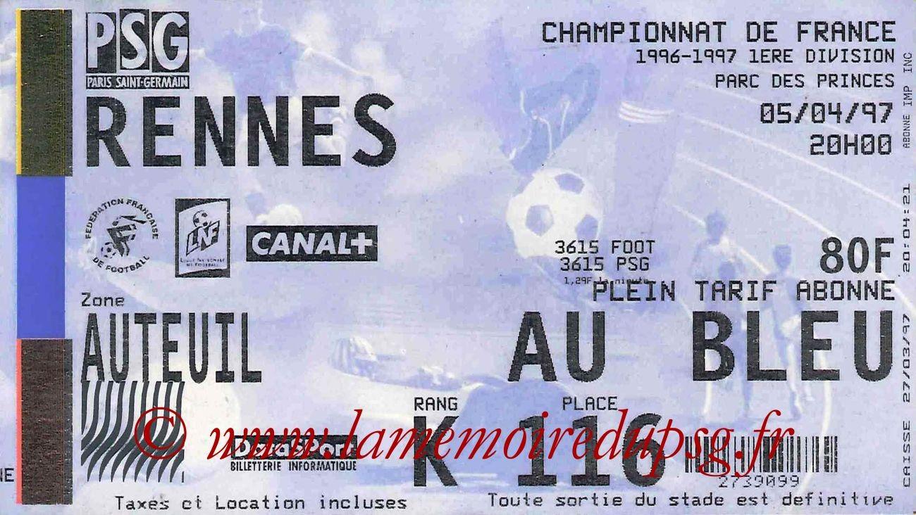1997-04-05  PSG-Rennes (32ème D1)