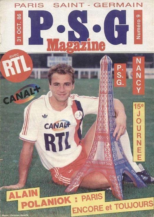 1986-10-31  PSG-Nancy (15ème D1, PSG Magazine N°9)