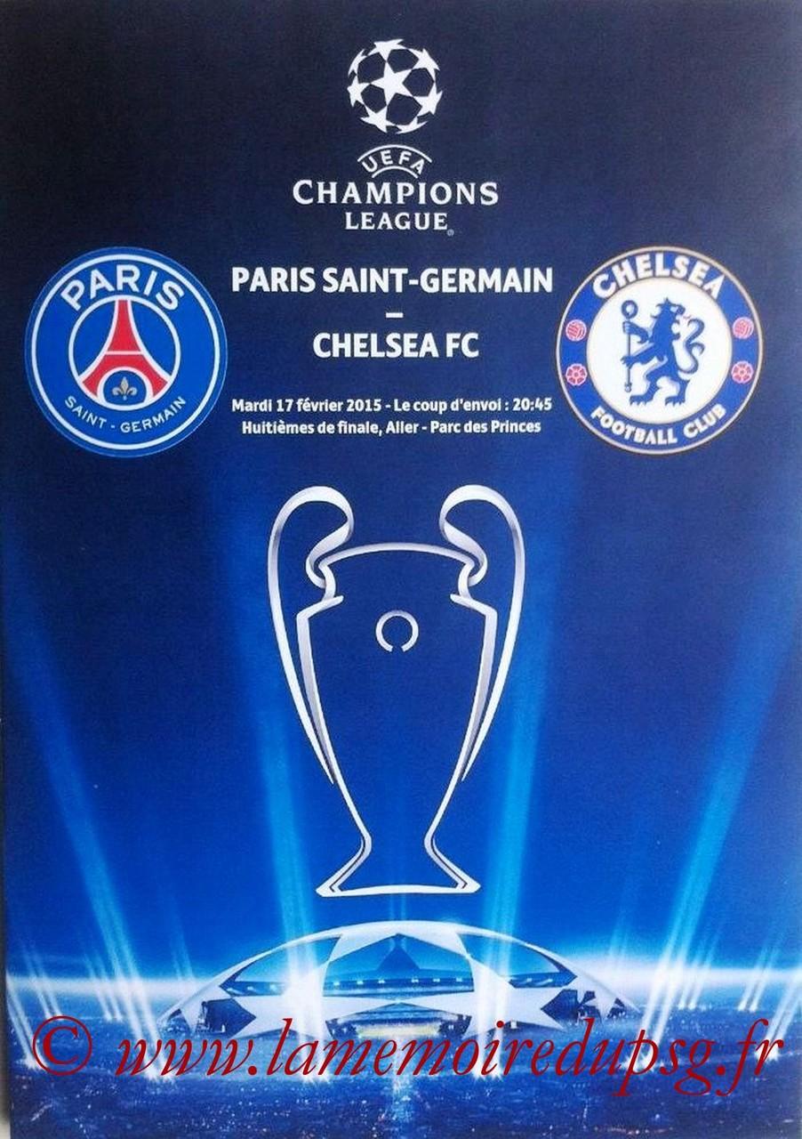 2015-02-17  PSG-Chelsea (8ème aller C1, Programme pirate 2)