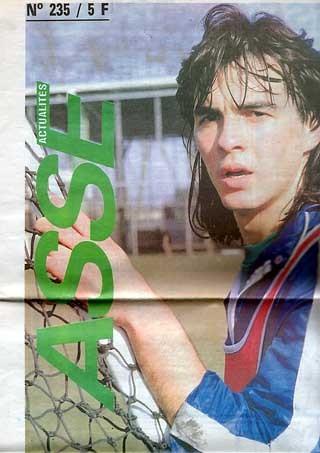 1989-03-25  Saint Etienne-PSG (31ème D1, ASSE Actualités N°235)