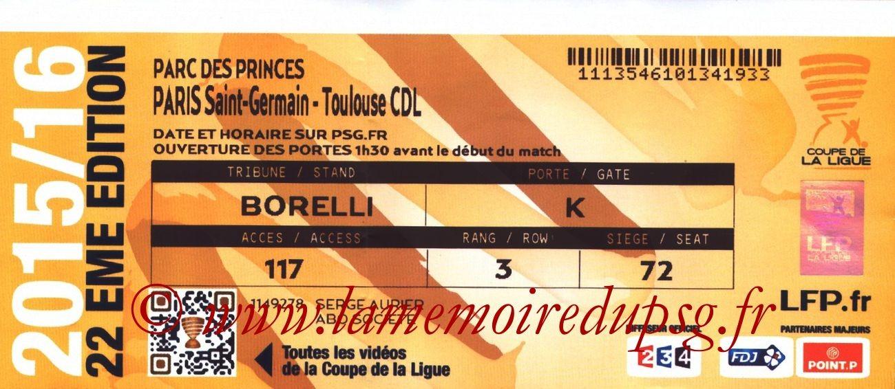 2016-01-27  PSG-Toulouse (Demi CL)