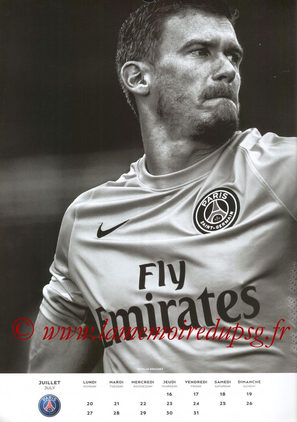 Calendrier PSG 2015 - Page 14 - Nicolas DOUCHEZ
