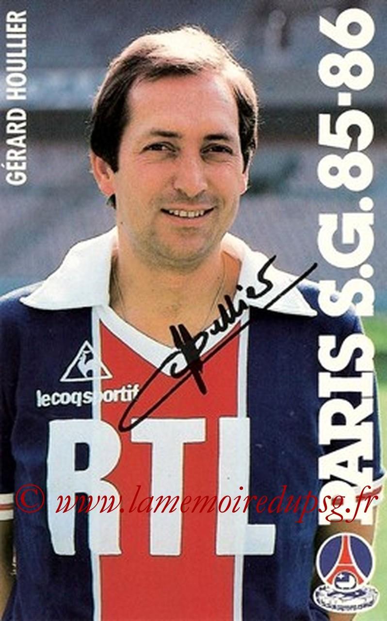 HOULLIER Gerard  85-86