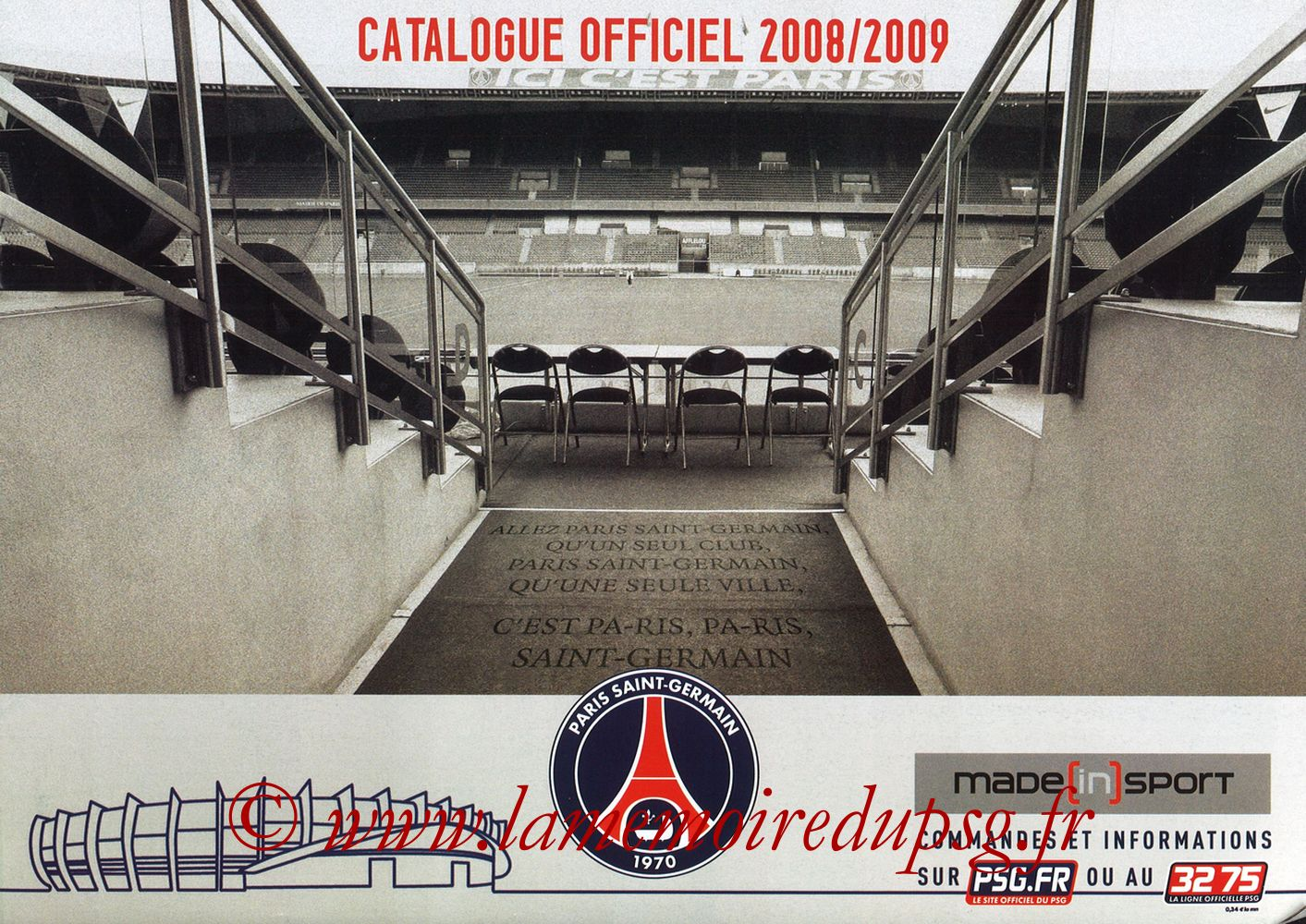 Catalogue PSG - 2008-09