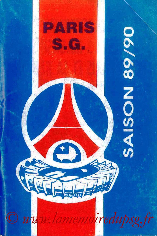 1989-90 - Guide de la Saison PSG - Couverture