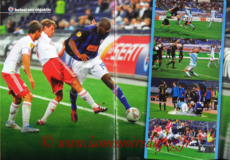 2011-10-20  Slovan Bratislava-PSG (3ème C3, Slovan N°4) - Pages 20 et 21