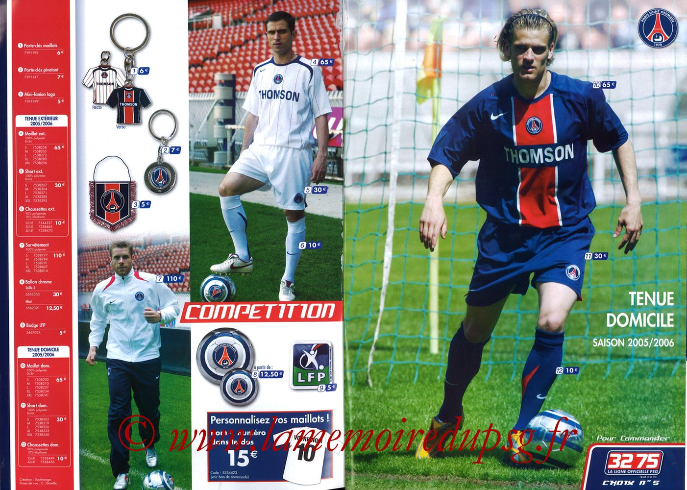 Catalogue PSG - 2005-06b - Pages 02 et 03