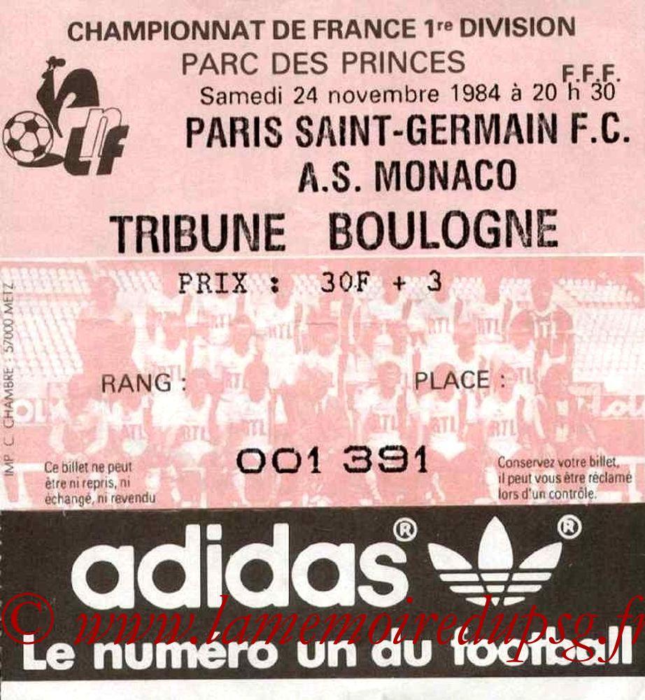 1984-11-24  PSG-Monaco (18ème D1)