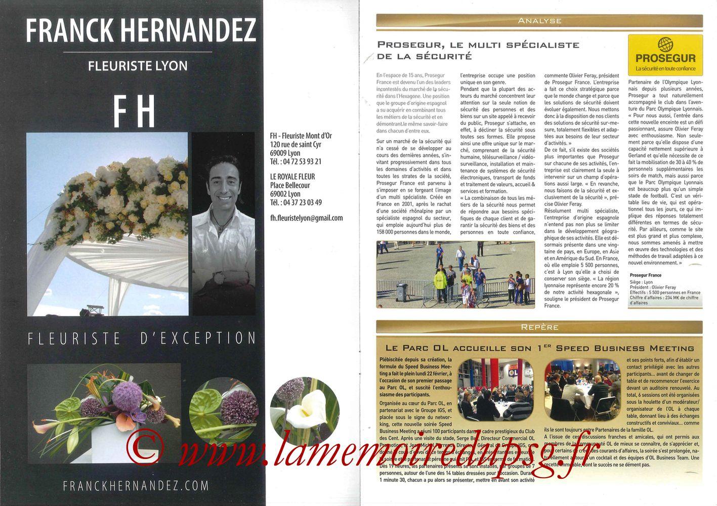 2016-02-28  Lyon-PSG (28ème L1, Esprit Club N°361) - Pages 02 et 03