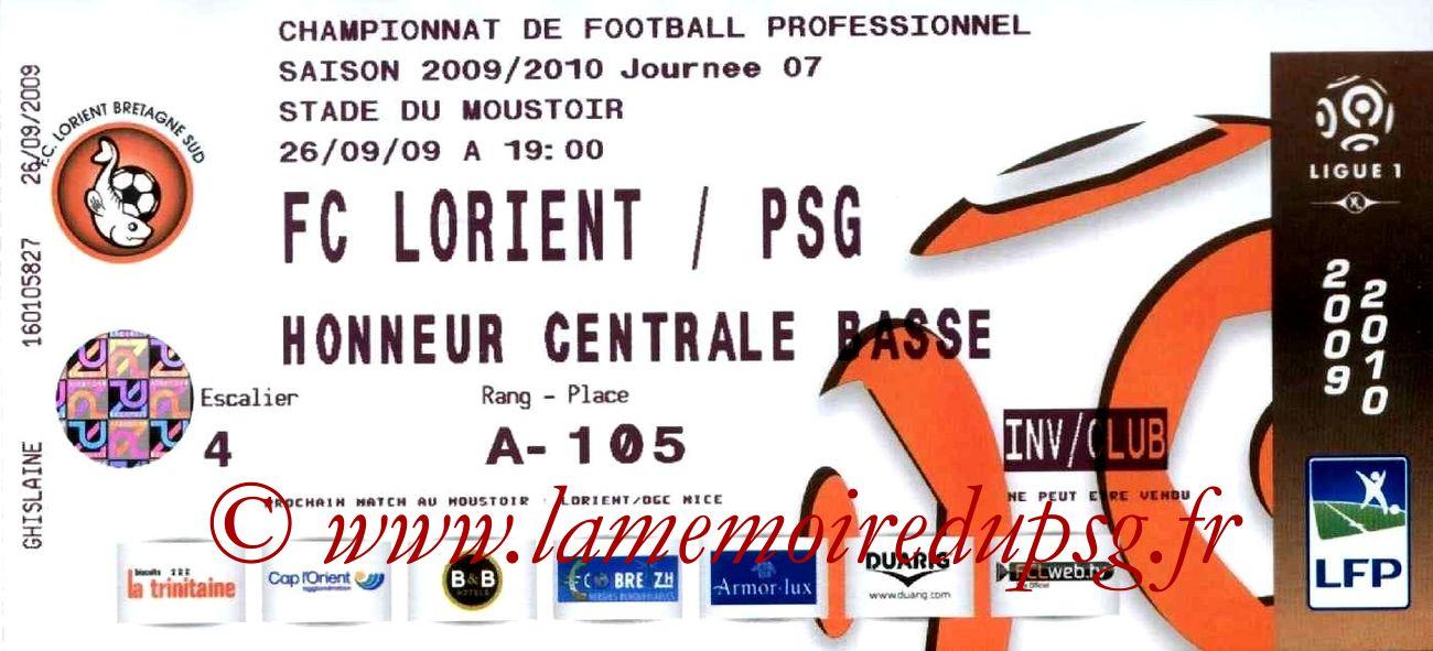 2009-09-26  Lorient-PSG (7ème L1)