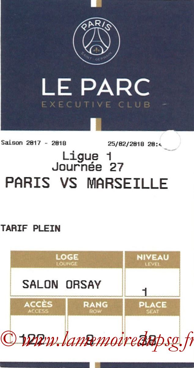 2018-02-25  PSG-Marseille (27ème L1, E-ticket Executive club)