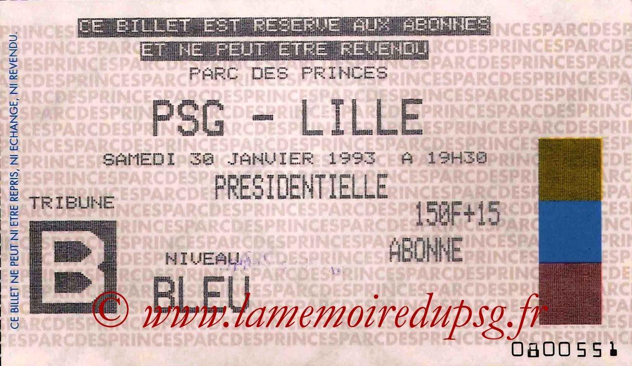1993-01-30  PSG-Lille (23ème D1)