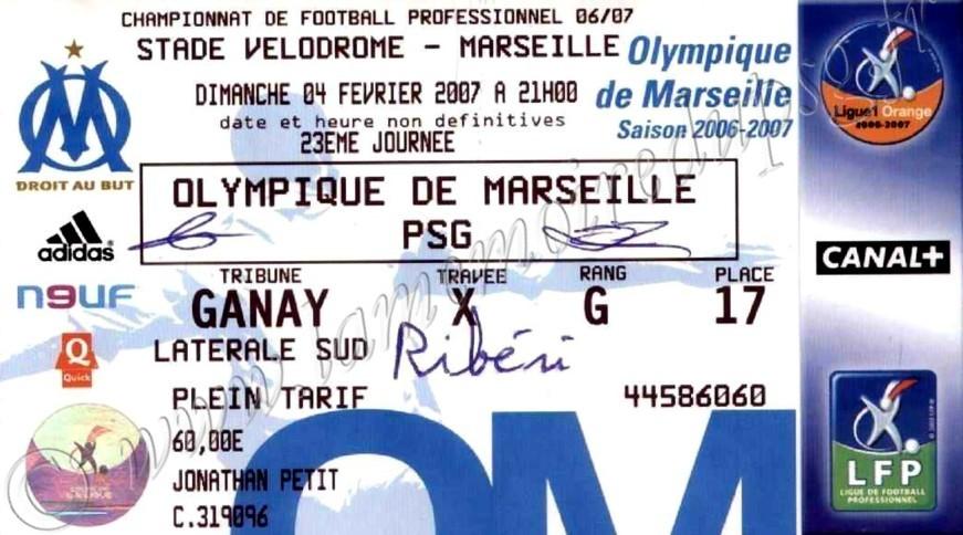 2007-02-04  Marseille-PSG (23ème L1)