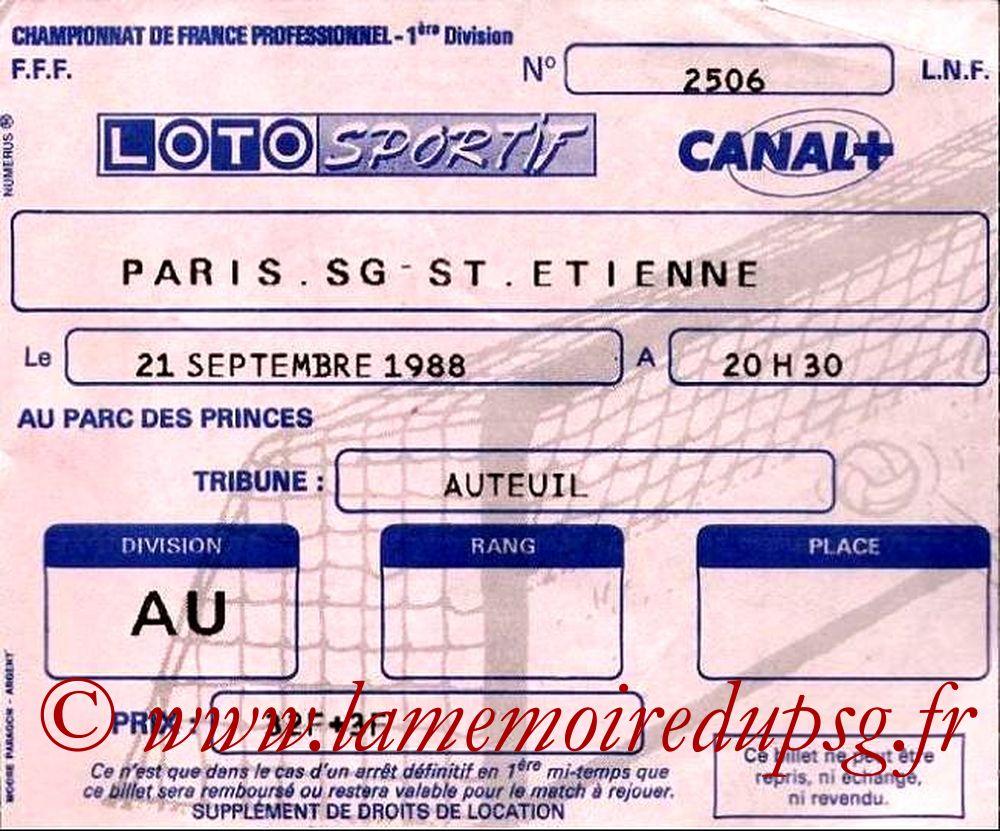 1988-09-21  PSG-Saint Etienne (13ème D1)