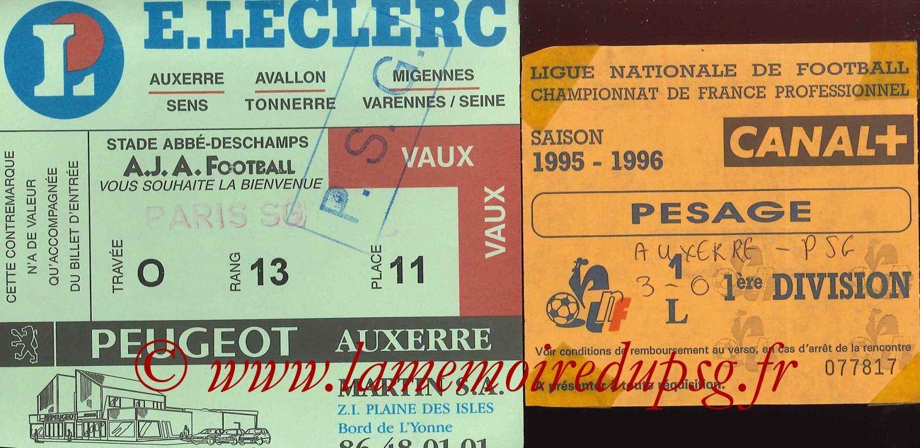 1996-03-24  Auxerre-PSG (32ème D1 Sans nom)