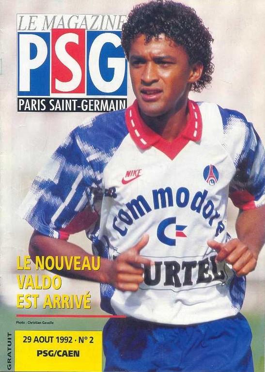 1992-08-29  PSG-Caen (4ème D1, Le Magazine PSG N°2)