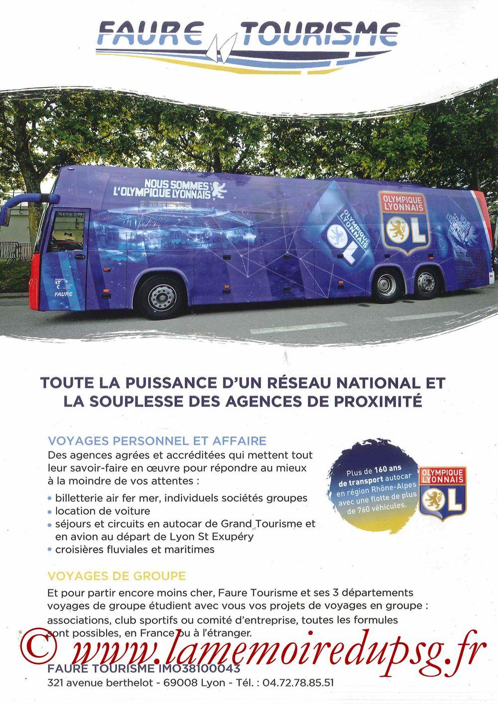 2016-02-28  Lyon-PSG (28ème L1, Esprit Club N°361) - Pages 08