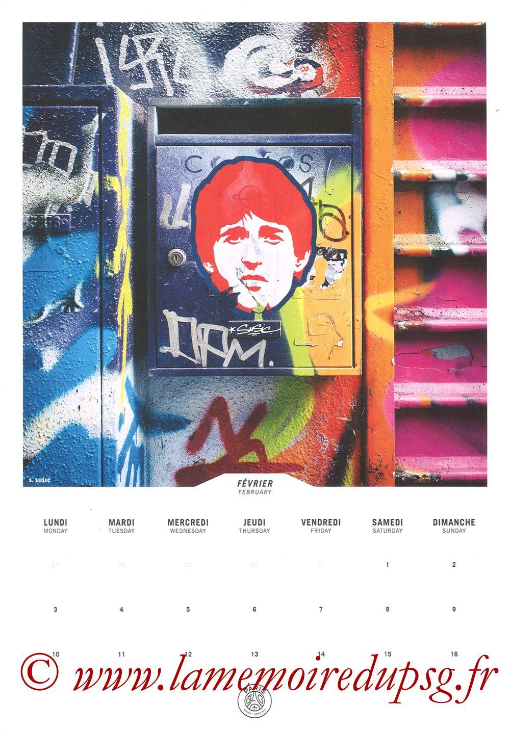 Calendrier PSG 2020 - Page 03 - SUSIC