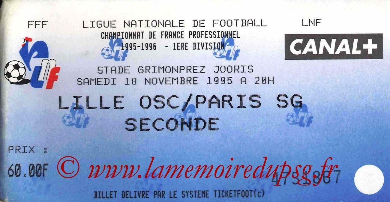 1995-11-18  Lille-PSG (18ème D1, bis)