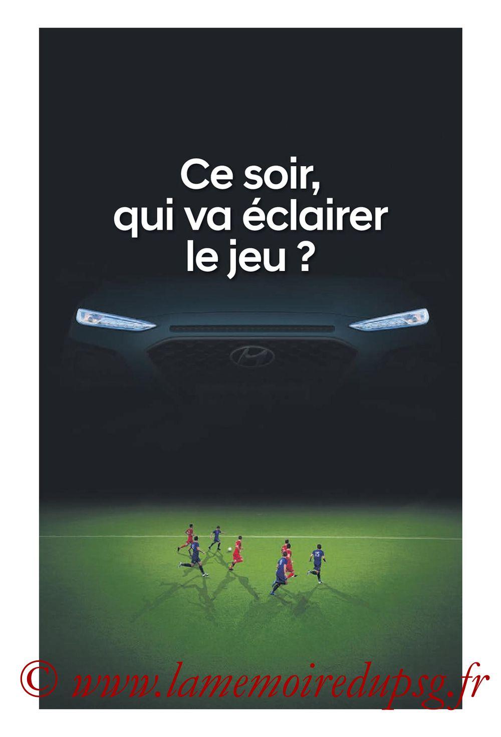 2019-09-22  Lyon-PSG (6ème L1, Tribune OL N°284) - Page 01