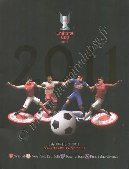 2011-07-30 et 11-07-31  Red Bulls New York-PSG et Boca Junior-PSG (Emirates Cup à Londres)