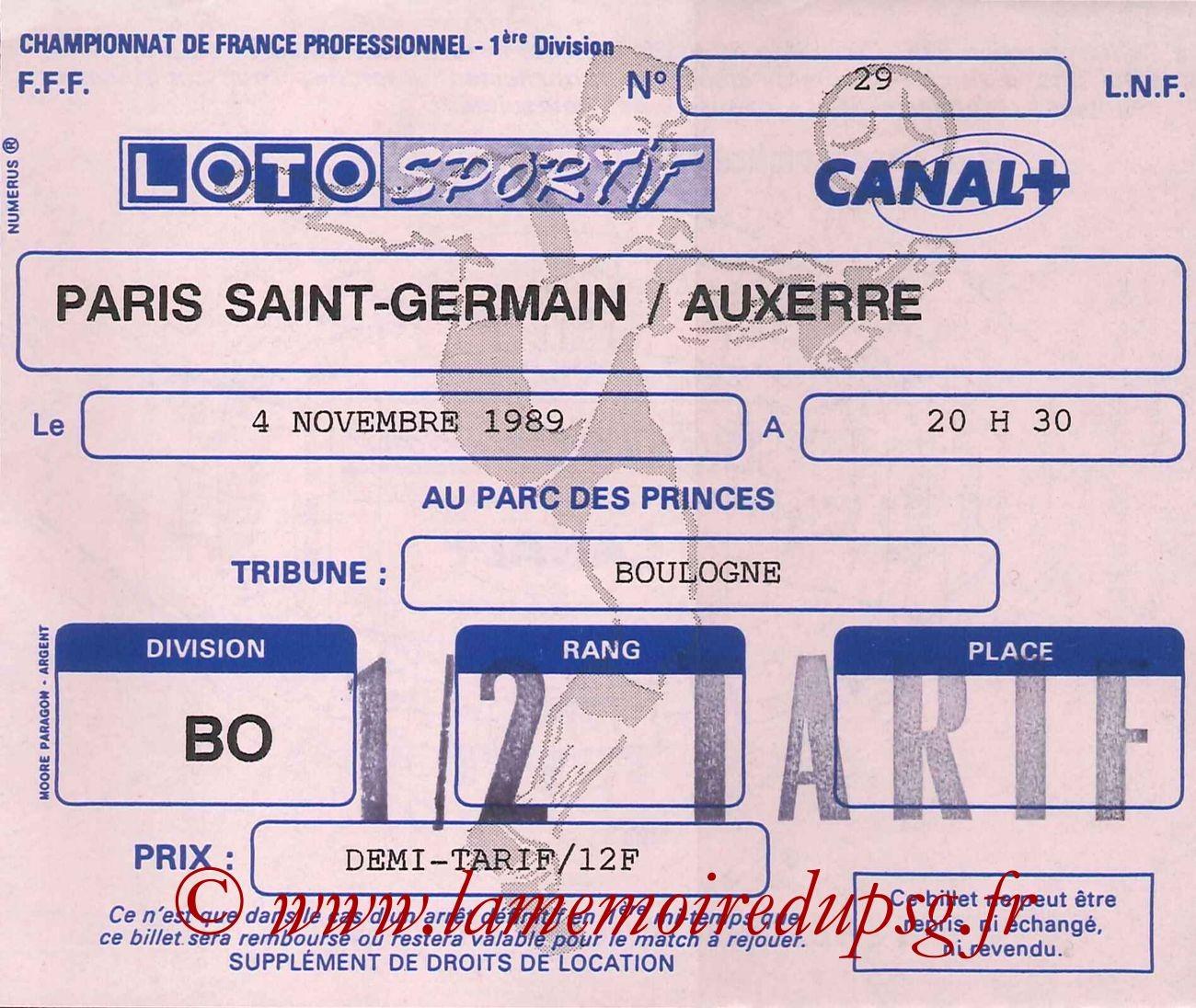 1989-11-04  PSG-Auxerre (17ème D1)