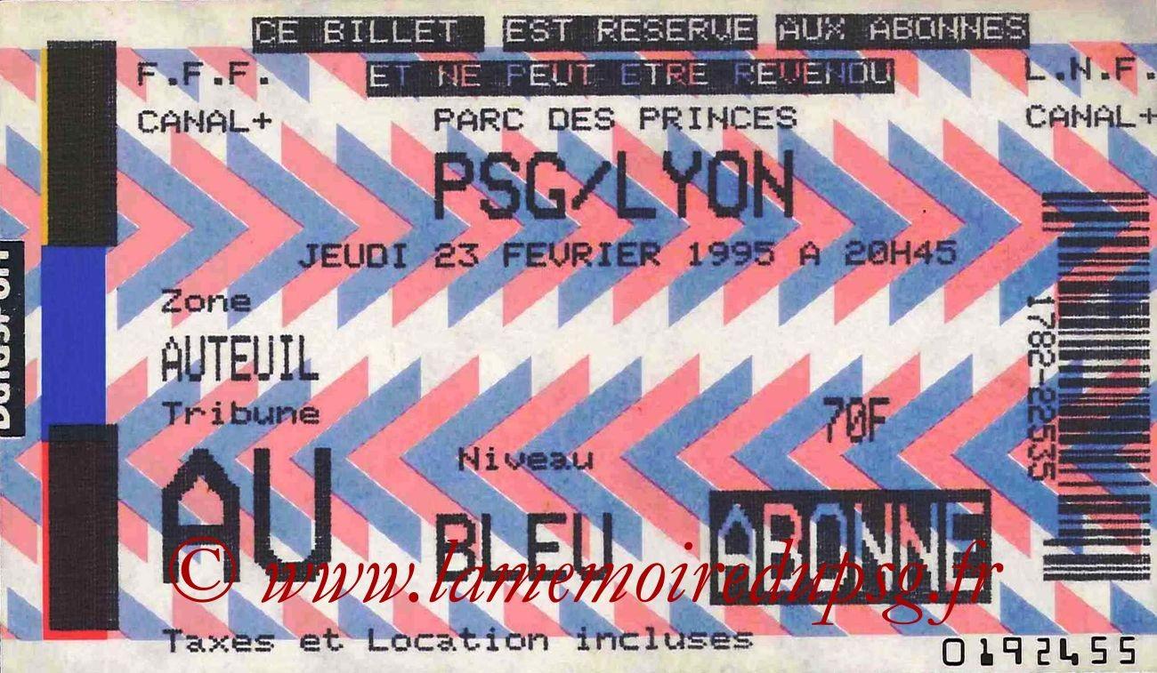 1995-02-23  PSG-Lyon (27ème D1)