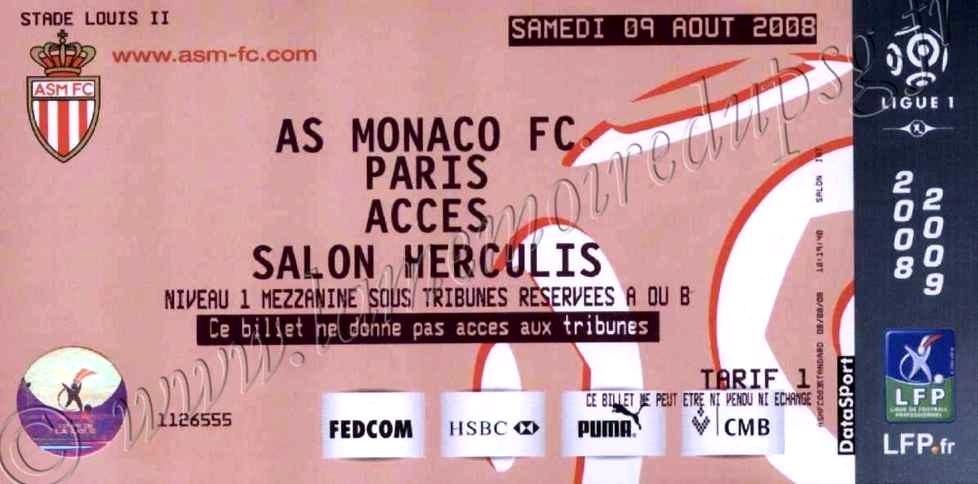 2008-08-09  Monaco-PSG (1ère L1)