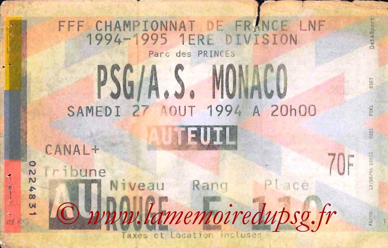 1994-08-27  PSG-Monaco (6ème D1)