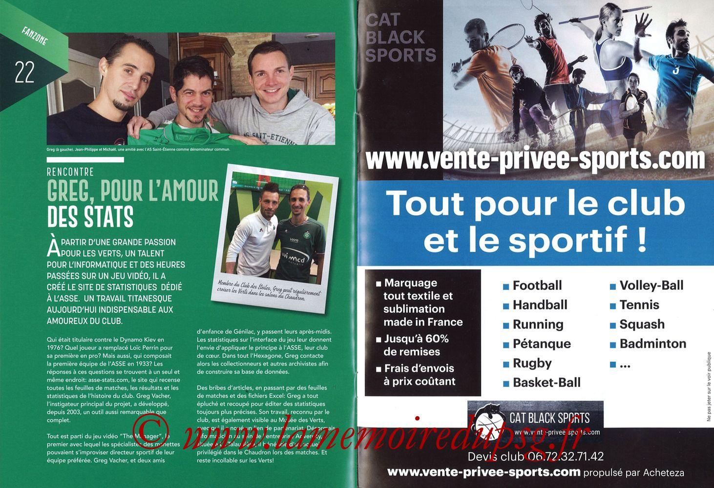 2019-02-17  Saint Etienne-PSG (25ème L1, Maillot Vert N° 13) - Pages 22 et 23