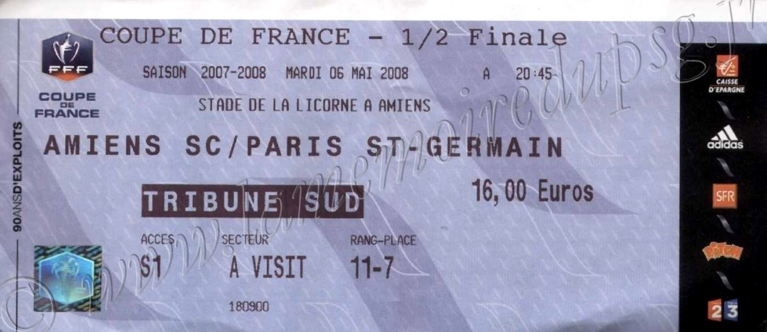 2008-05-06  Amiens-PSG (Demi-Finale CF)