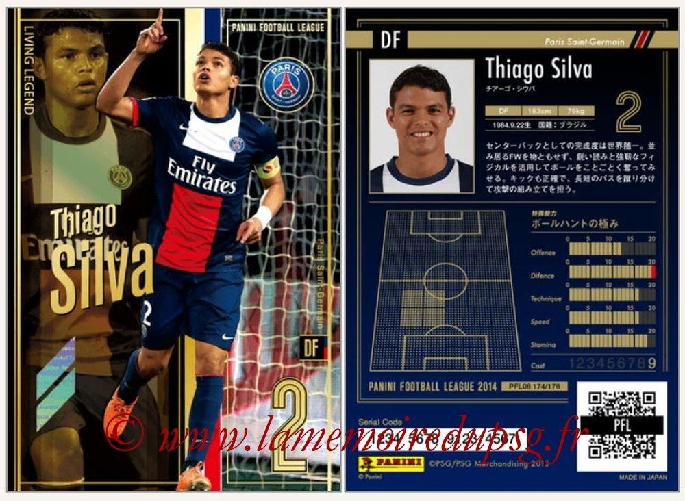 N° 174 - Thiago SILVA (Living Legend)
