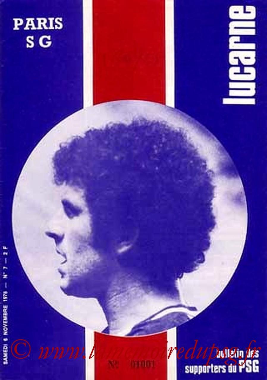 1976-11-06  PSG-Troyes (13ème D1, Lucarne N°7)