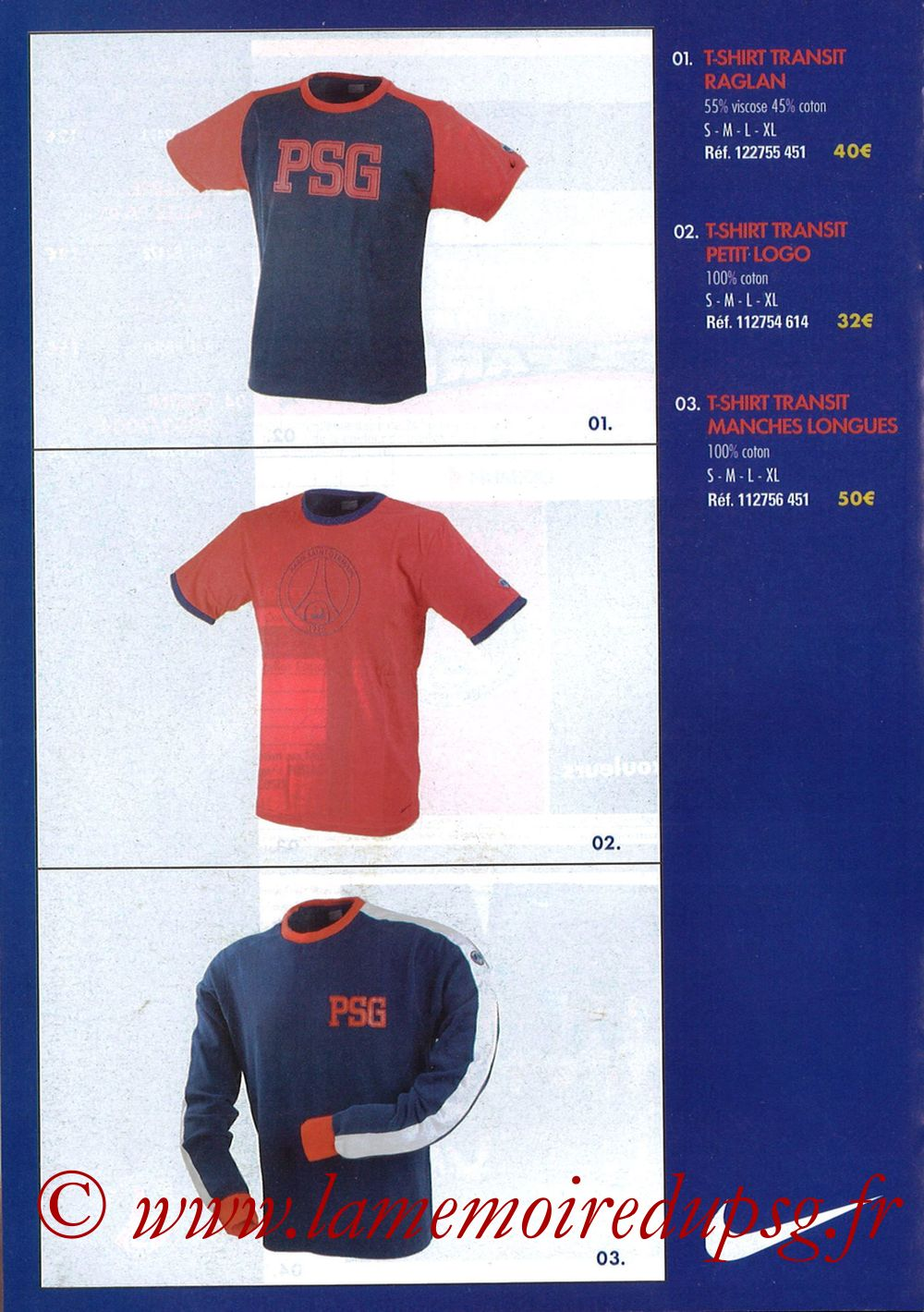 Catalogue PSG - 2003-04 - Page 08