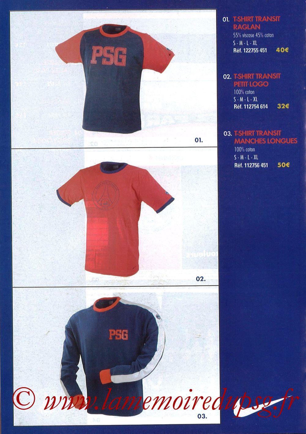 Catalogue PSG - 2003-04 - Page 08