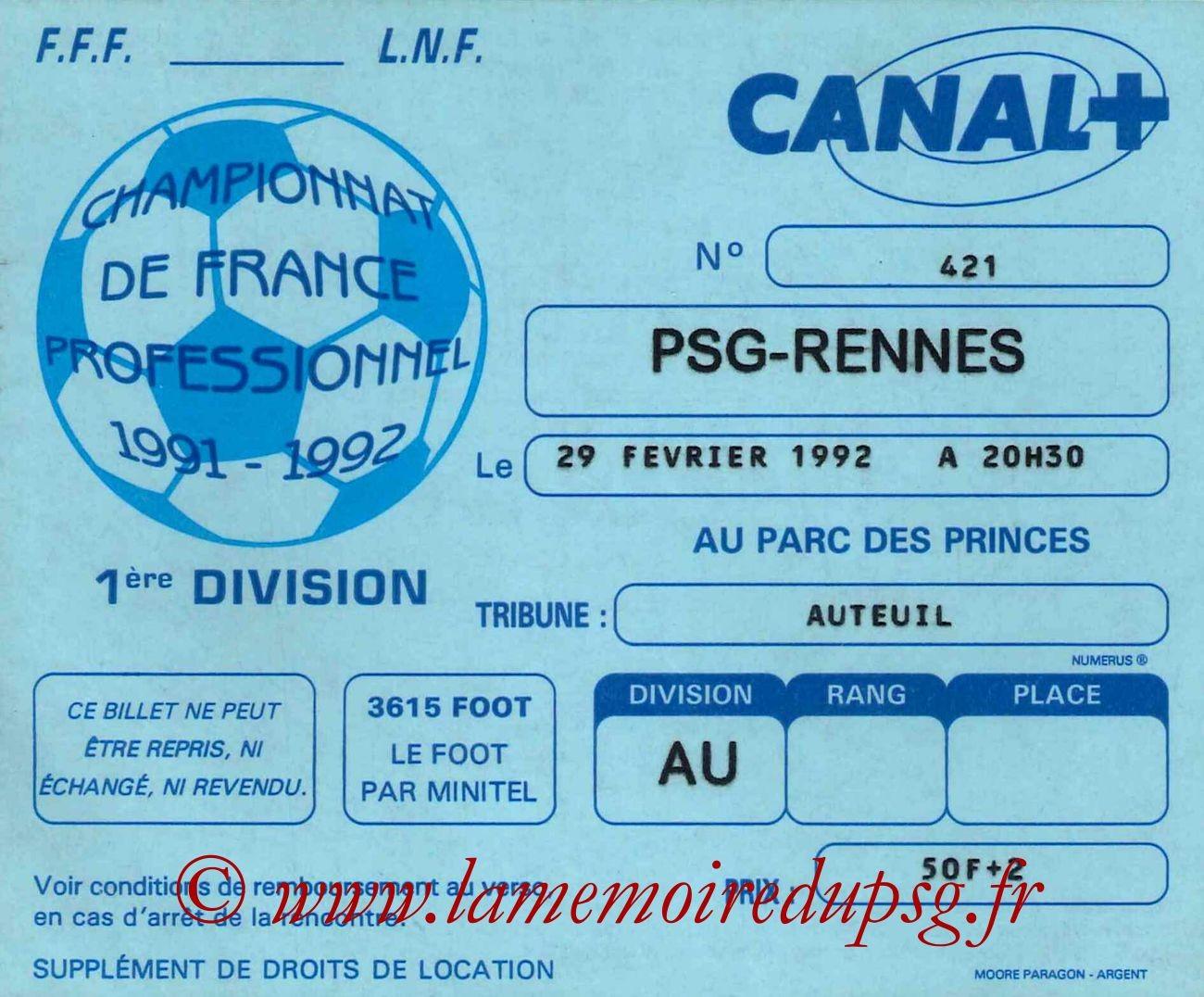 1992-02-29  PSG-Rennes (30ème D1)