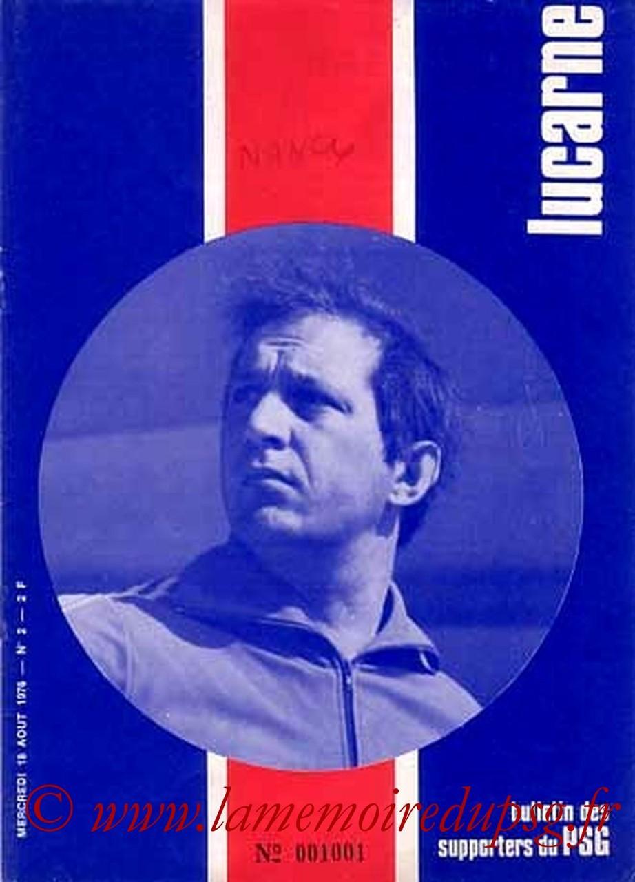 1976-08-18  PSG-Nancy (3ème D1, Lucarne N°2)