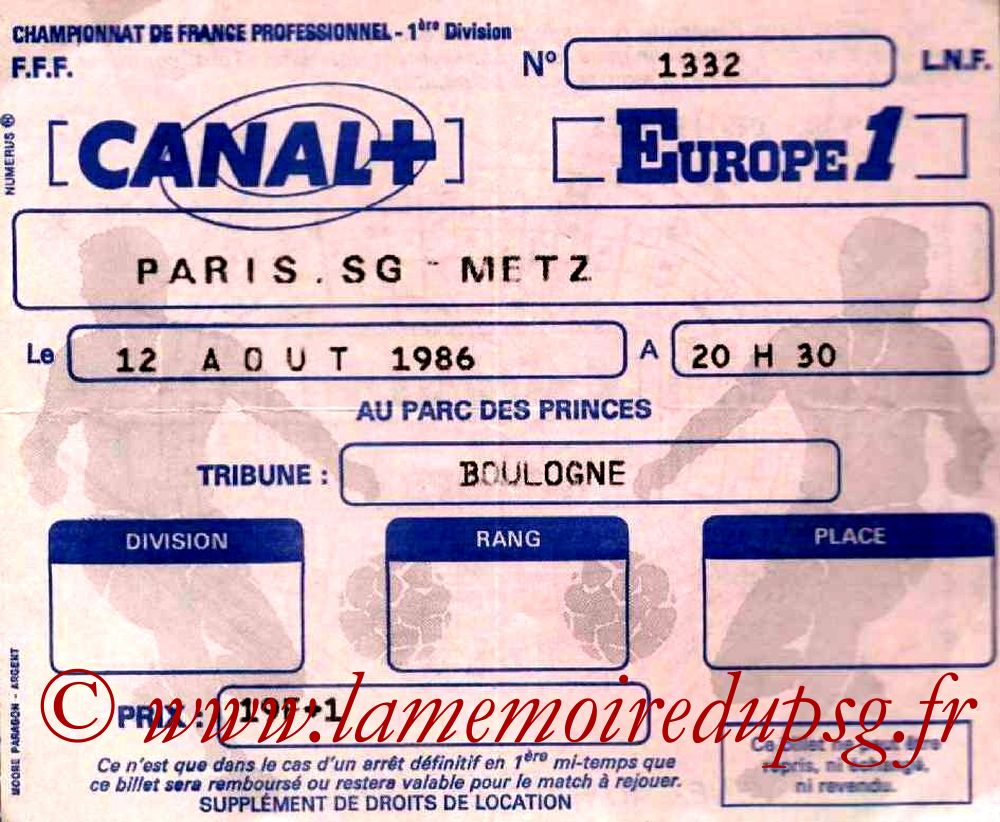1986-08-12  PSG-Metz (3ème D1)