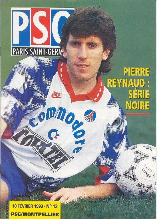 1993-02-10  PSG-Montpellier (25ème D1, Le Magazine PSG N°12)