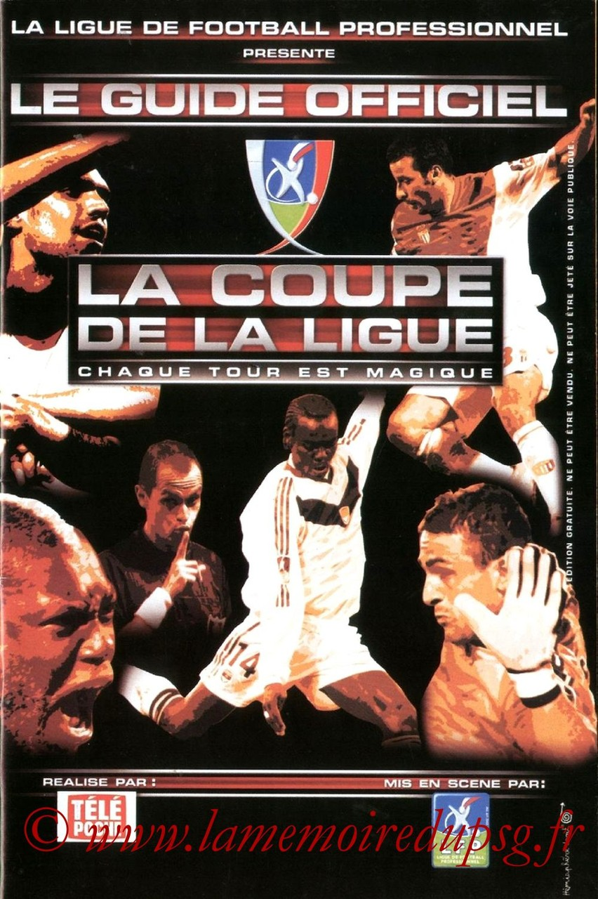 2002-12-07  PSG-Nantes (16ème CL, Guide officiel LFP)