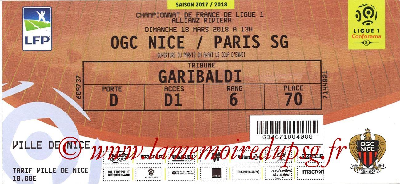 2018-03-18  Nice-PSG (30ème L1)site