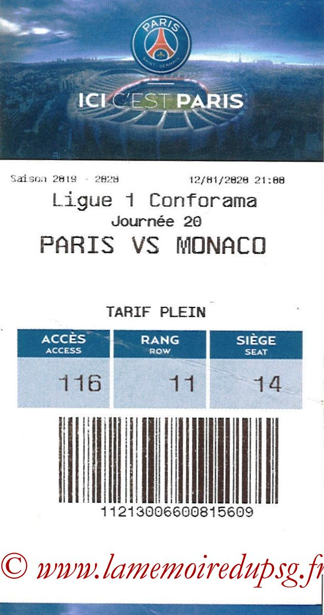 2020-01-12  PSG-Monaco (20ème L1, E-ticket)